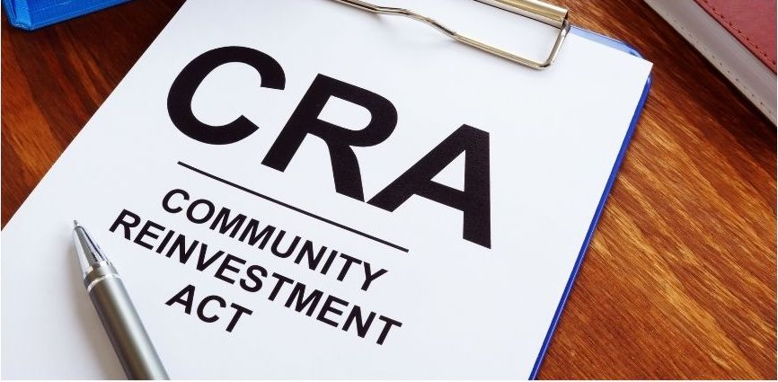 image of a flyer with words Community Reinvestment Act