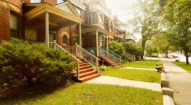 Lawn and home in Chicago - redlining harms commiunities
