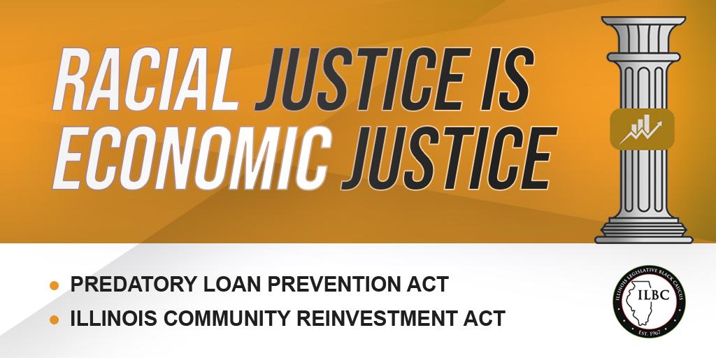Racial Justice is Economic justice logo