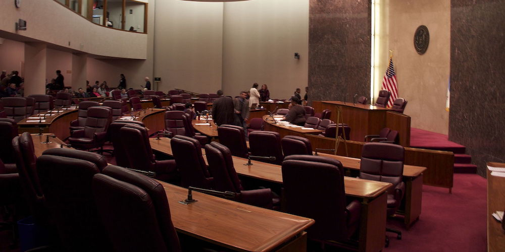 Chicago City Council Chambers (wikimedia pic)
