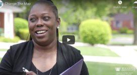 Change the map video - image of homeowner and predatory loan borrower Kesha Warren